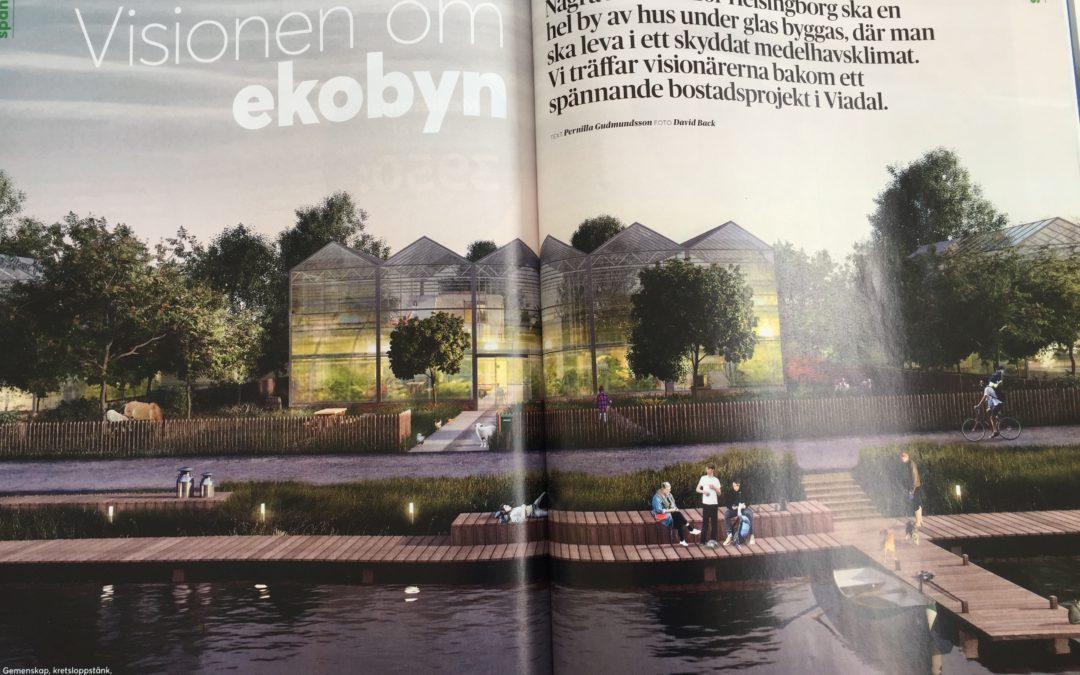 Ecobyn i tidningen Villaägaren