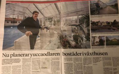 Ecobyn i Helsingborgs Dagblad