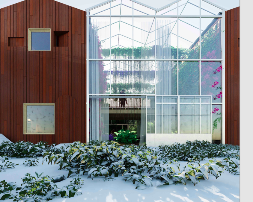 Radhus och lägenheter i Ecobyn